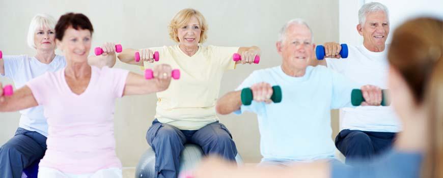 Super Fitness voor ouderen - Acti-vita @RK56