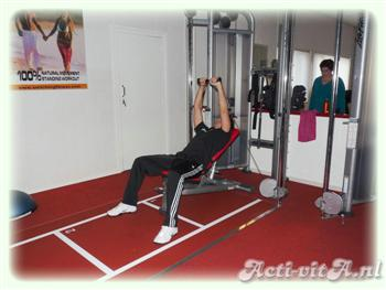 Incline Cable Bench Press