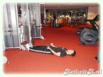 Cable supine curl