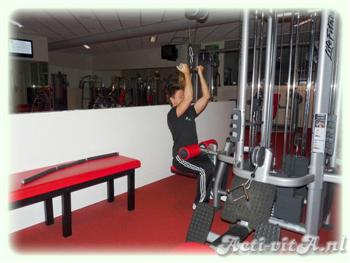 Cable Underhand Pulldown